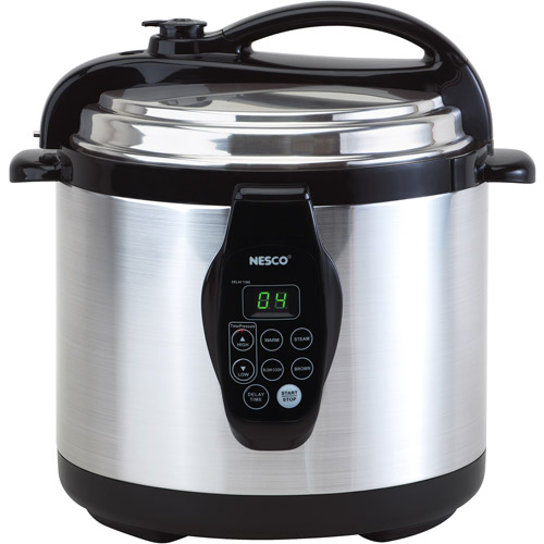Nesco Digital Electric 6-Quart Pressure Cooker