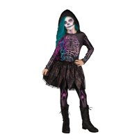 Halloween Dragon Queen-Moonlight unicorn-Galaxy Skeleton girl's costume assortment by Fun World.