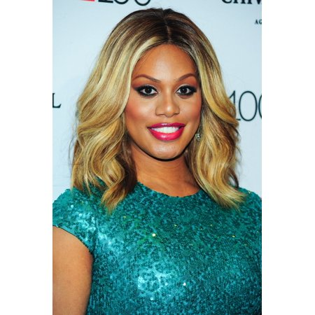 Laverne Cox At Arrivals For Time 100 Gala Dinner 2015 Canvas Art     16 X 20