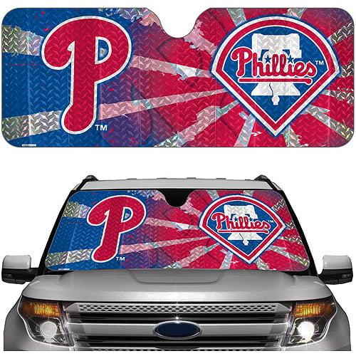 Philadelphia Phillies MLB Auto Sunshade