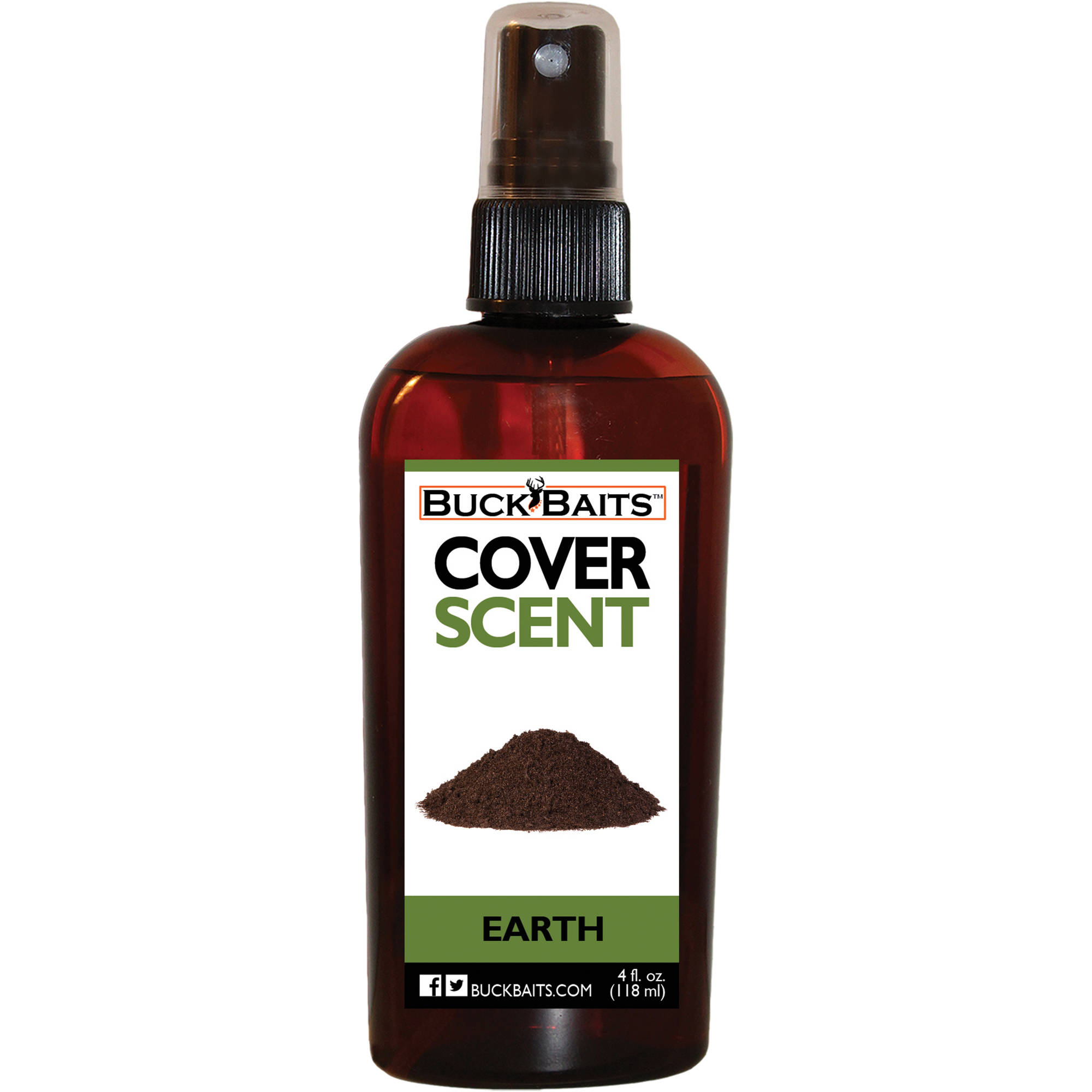 Buck Baits Earth Cover Scent 4 oz. thumbnail