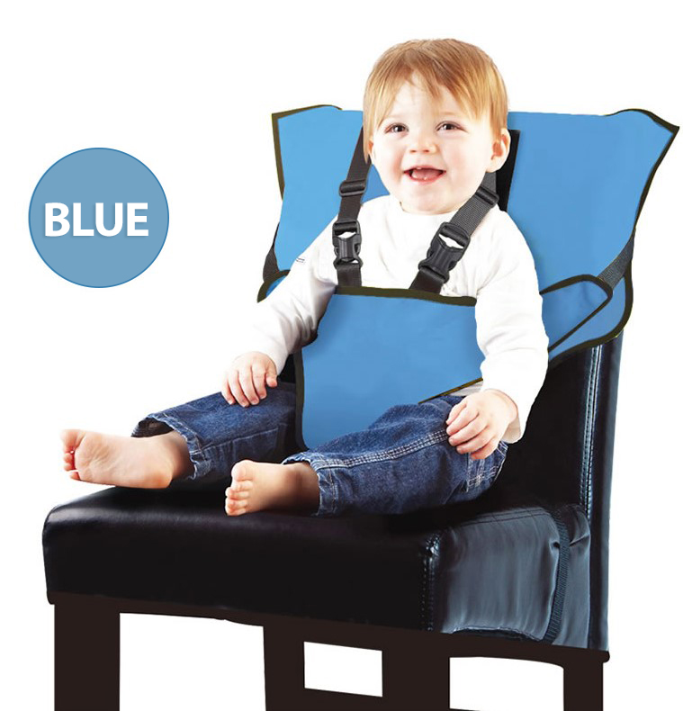 Easy to Go with Carrying Bag, Park Beach or Grandma VEEYOO Travel Booster Seat with Removable Tray Compact Folding Portable High Chair for Dining Camping Turquoise