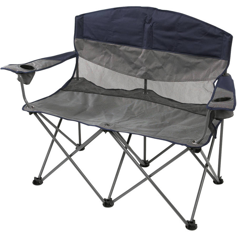 Stansport Double Apex Folding Chair Walmart – Folding Padded Lawn Chairs