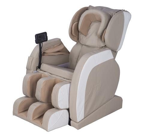 MCombo Electric Massage Chair Fullbody Shiatsu Recliner Heat Stretched Foot 8886 Khaki