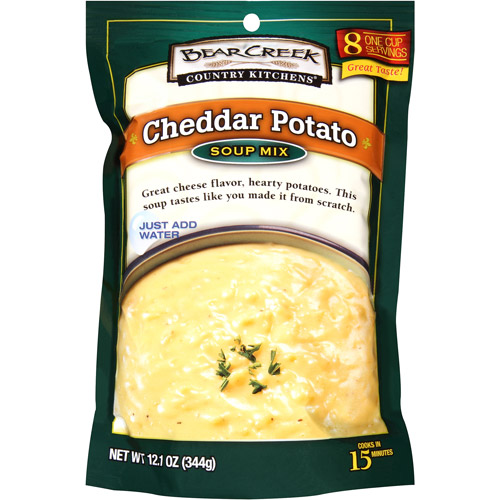 Bear Creek Country Kitchens Cheddar Potato Soup Mix, 12.1 oz