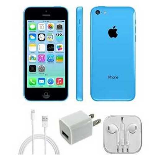Apple - Iphone 5c A1532 Verizon 16 GB Cell Phone - Blue