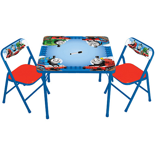 Hit Entertainment Thomas u0026 Friends Erasable Activity Table and Chairs Set  sc 1 st  Walmart & Hit Entertainment Thomas u0026 Friends Erasable Activity Table and ...