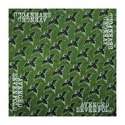 Avenged Sevenfold Green Bats Bandana Green