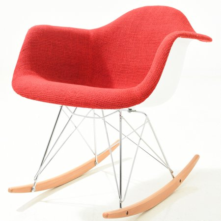 Poly Padded Red Rocker Image