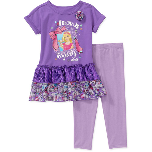 Barbie Baby Girls' 2-Piece Tunic and Legging Set
