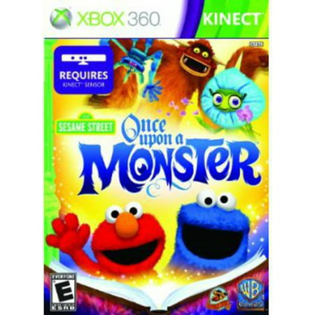 Sesame Street: Once Upon a Monster for Xbox 360 (Wii Sesame Street Game)