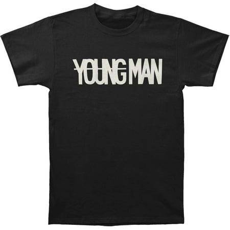 - Machine Gun Kelly (Music) Men's  Young Man T-shirt Black