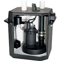 Sta-Rite Flotec FPZS33LTS/FPOS180 Heavy-Duty Sink Pump System, 0.33 hp, 3600 gph (Sink Pump System)