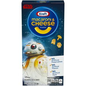Kraft Disney Star Wars Macaroni & Cheese Dinner 5.5 oz. Box