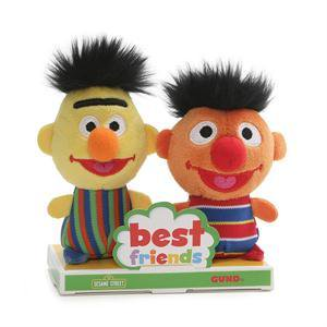 GUND - Sesame Street - Bert & Ernie BFF Set, - Ernie Bert Halloween