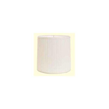 Deran Lamp Shades Mushroom Pleat 15 Linen Drum Shade
