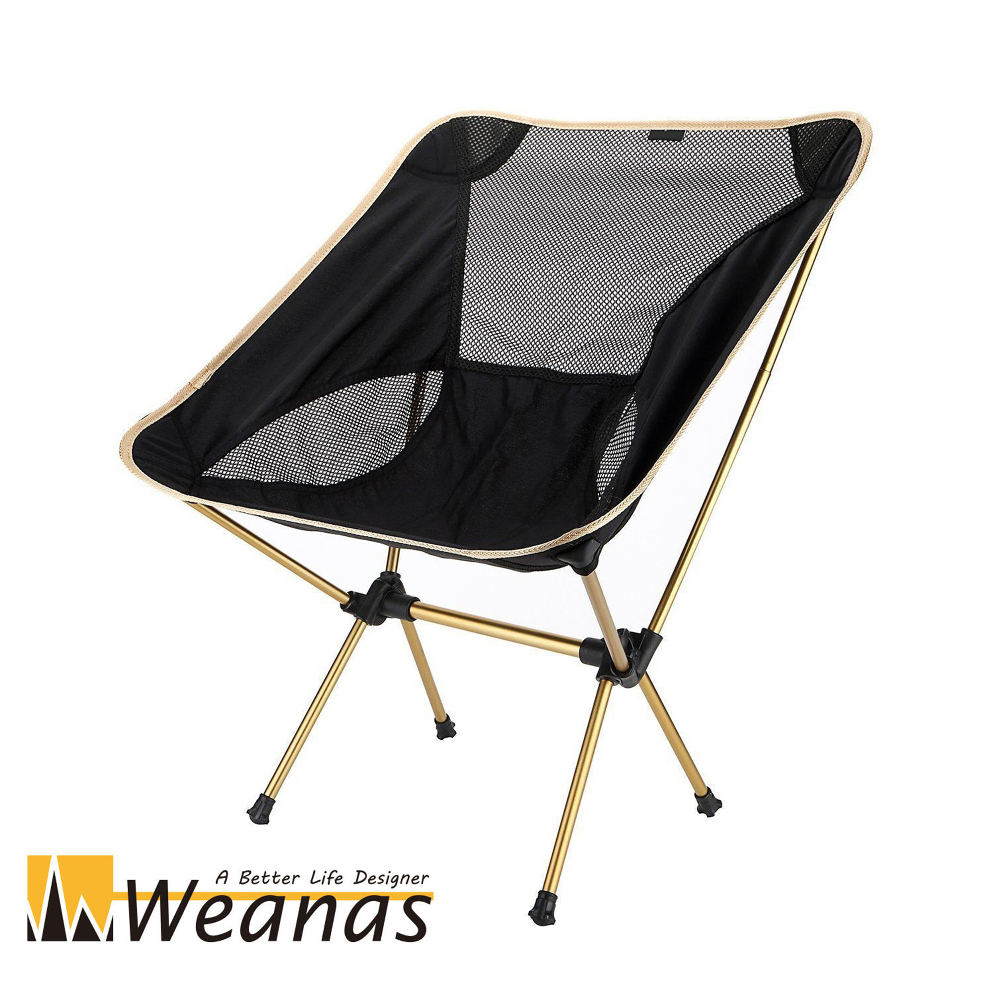WEANAS Portable Ultralight Collapsible Moon Leisure Campi...