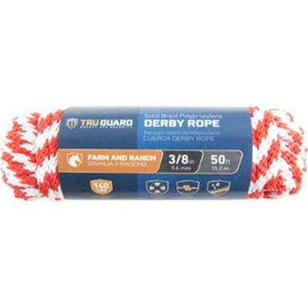 Mibro 231477 0.37 in. x 50 ft. Tru Gaurd Derb Rope, Red - image 1 de 1