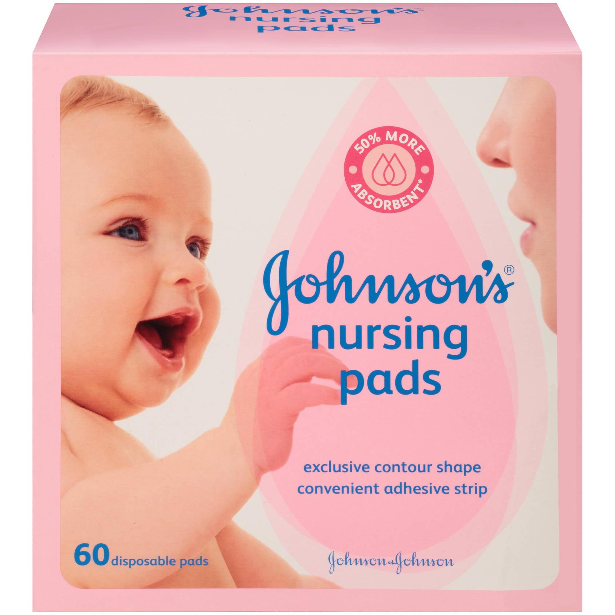 Johnson's Nursing Pads, 60 Count