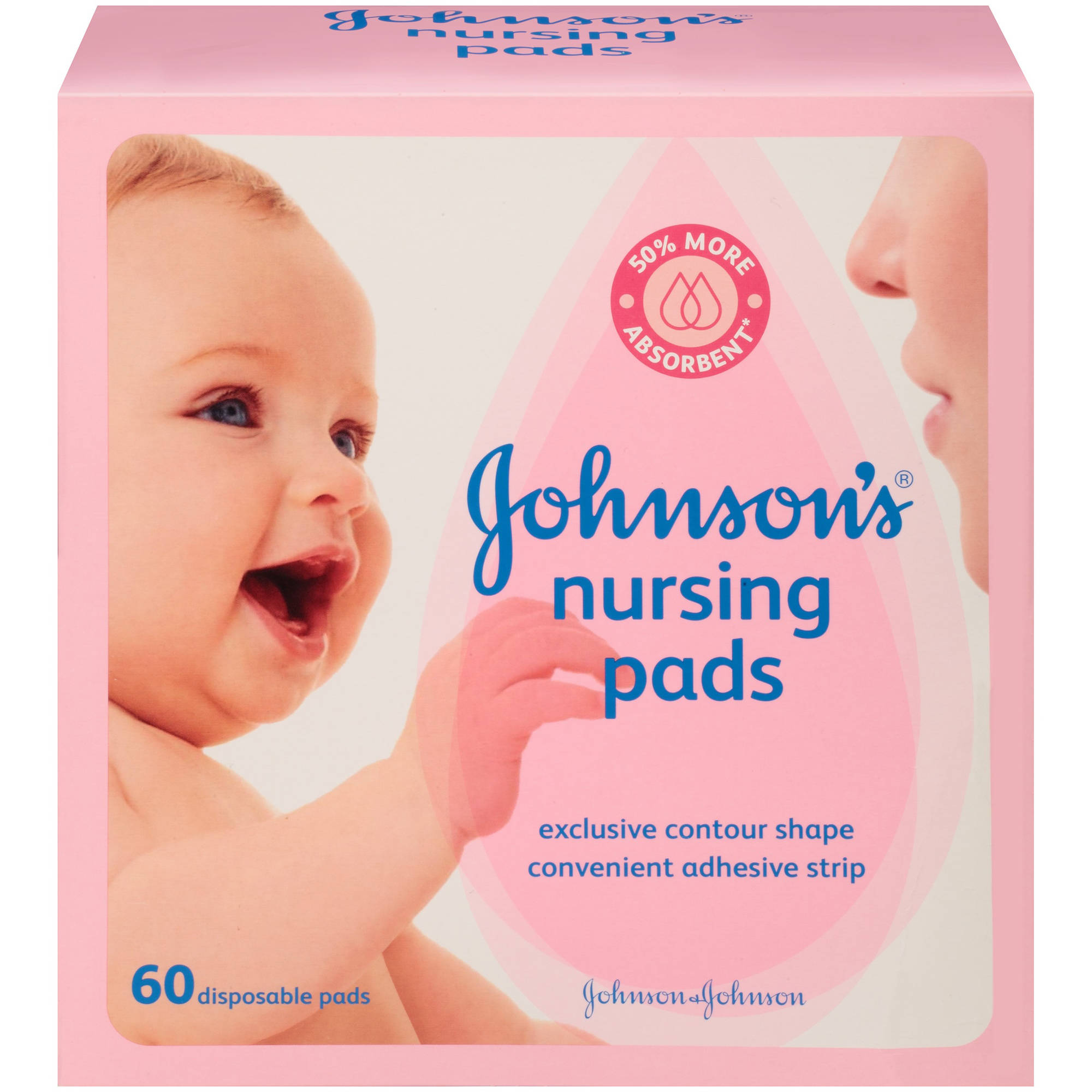 Johnson's Nursing Pads, 60 Count