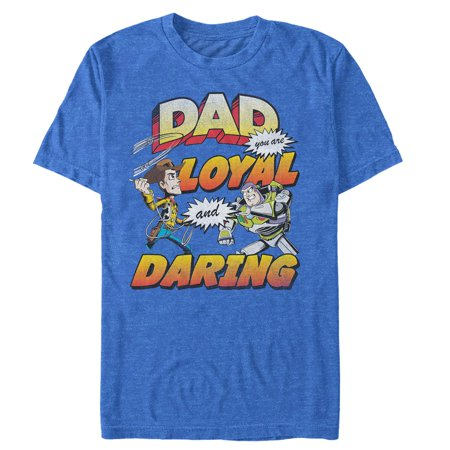 Toy Story Men's Father's Day Buzz & Woody T-Shirt - Mens Toy Story Woody Shirt