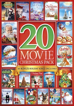 20-Movie Christmas Pack (DVD) by Platinum Disc