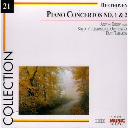 Collection 21: Piano Concertos 1 & 2 - Beethoven