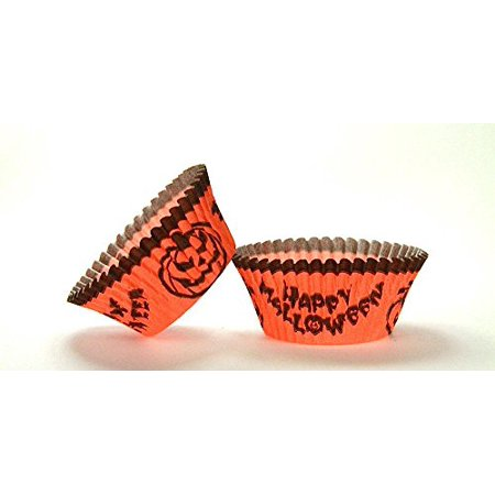 50pc Halloween Design Standard Size Cupcake Baking Cups Liners Wrappers](Cool Easy Halloween Cupcakes)