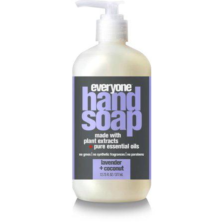 (3 Pack) Everyone Liquid Hand Soap, Triclosan-Free, Lavender & Coconut, 12.75 Oz