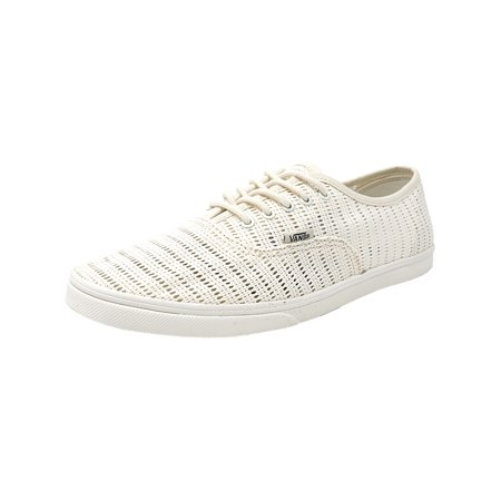 Vans Authentic Lo Pro Mesh Marshmallow Canvas Skateboarding Shoe 10M 8.5M