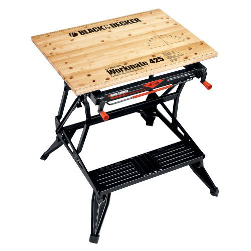 Black & Decker Workmate 425 550-Pound Capacity Portable Work Bench, WM425