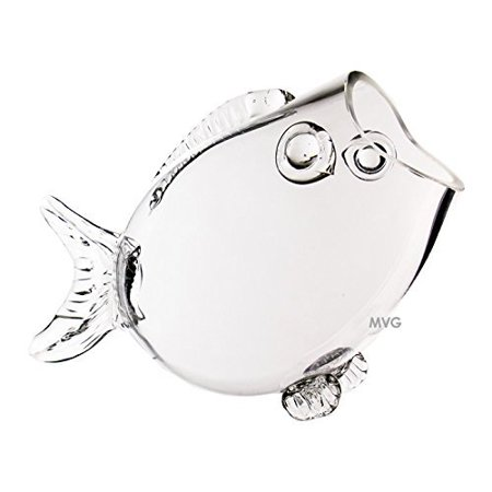 Cool Cys Clear Thick Glass Fish Shaped Bowl 9 Aquarium Candy Dish Centerpiece Interior Design Ideas Philsoteloinfo