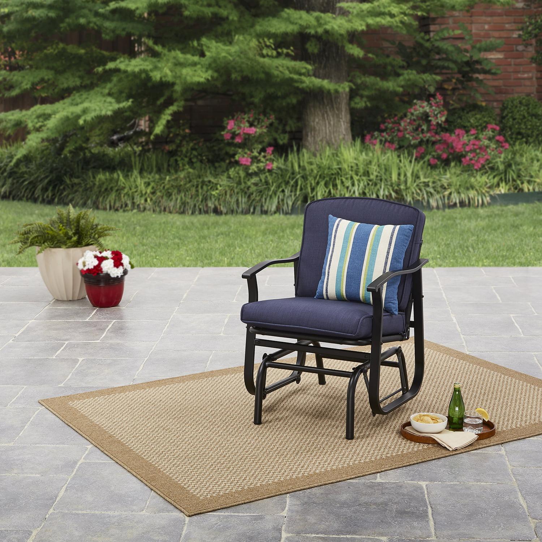 Mainstays Belden Park Outdoor Glider Chair - Green