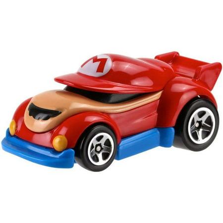 hot wheels super mario bros mario character car. Black Bedroom Furniture Sets. Home Design Ideas