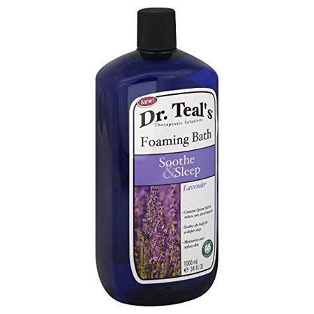 Dr. Teal's Therapeutic Solutions 34 oz. Soothe & Sleep Foaming Bath in -