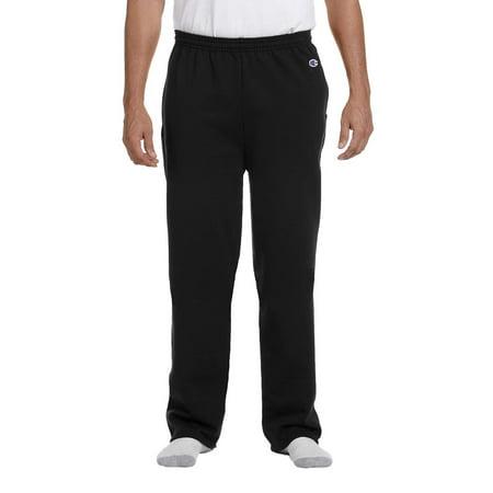 Champion P800 Sweat Pants 9 oz. EcoSmart Open-Bottom Gym Champion Fleece Pants