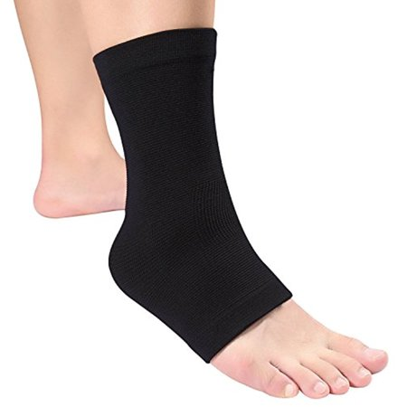 Yosoo Ankle Foot Brace Compression Support Sleeve for Women Men Sprains Strain Arthritis Weak (Best Ankle Support For Sprain)