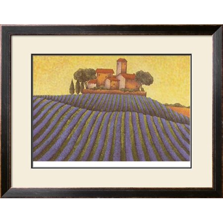 The Colours of Provence III Framed Art Print Wall Art  By M. Picard - 35x27.5
