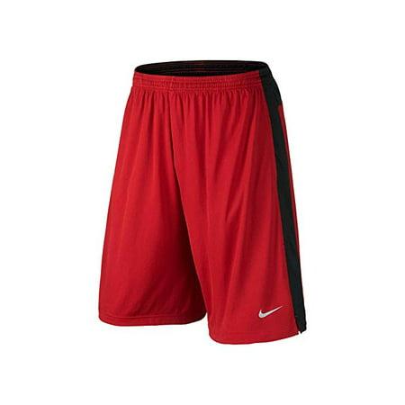 Nike Dri-FIT Knit Core Training Shorts Red Black (Nike Pro Zonal Strength Mens Training Tights)