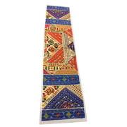 Mogul Interior Indian Banjara Table Runner Vintage Patchwork Table Throw Wall Art