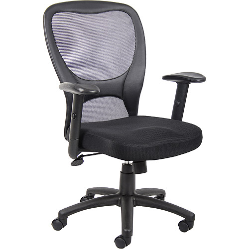 Boss Mesh Task Chair with Adjustable Arms