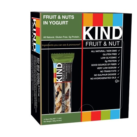 KIND Fruit & Nut Bar Fruit & Nuts In Yogurt - 12 CT