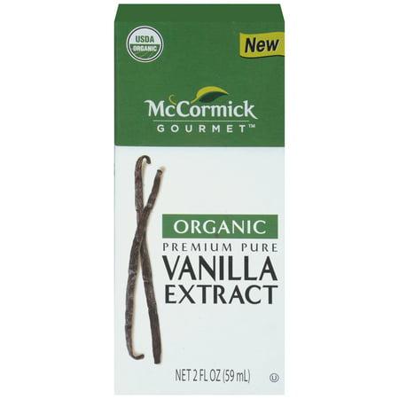 McCormick Gourmet Organic Pure Vanilla Extract, 2 fl