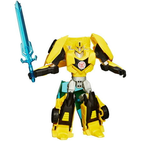 Transformers Robots in Disguise Warriors Class Bumblebee Figure (Transformers For Kids)