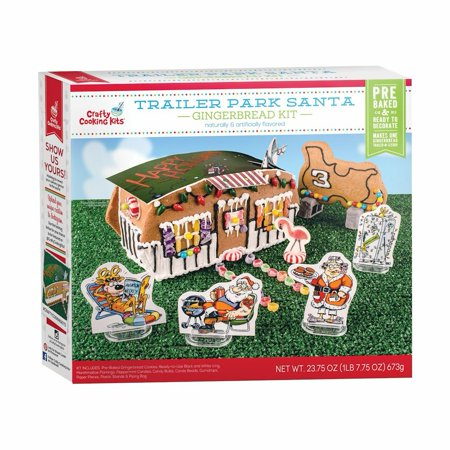 Trailer Park Santa Gingerbread Kit