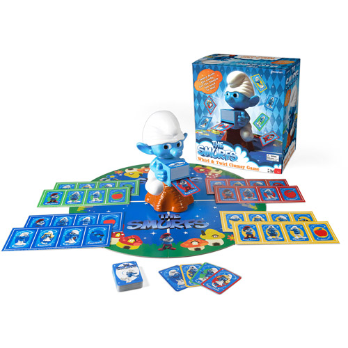 Pressman Toy Smurfs Whirl And Twirl Ga by Pressman Toys
