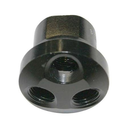 (Interstate Pneumatics FPM44 Aluminum Dome Manifold - 3 Way Outlet 1/4