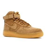Mens Nike Air Force 1 High '07 LV8 Wheat Flax Gum Brown 882096-200