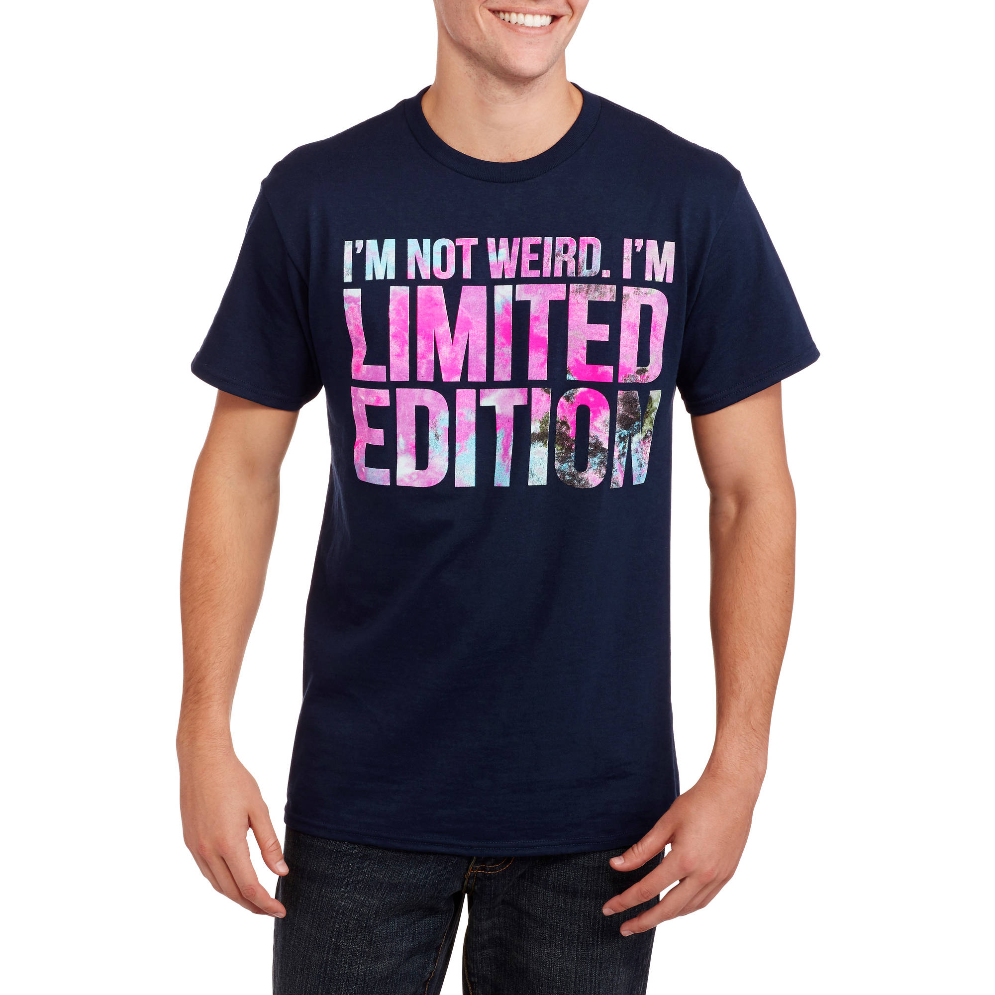 I'm Limited Edition Big Men's Graphic Tee