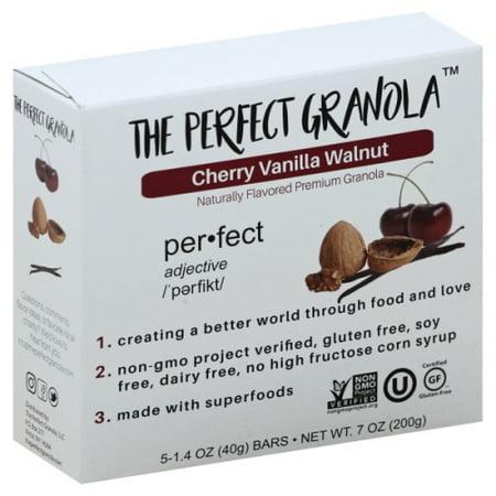 Cherry Breakfast - The Perfect Granola - Cherry Vanilla Walnut Granola Bars